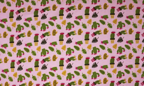Jersey ~ Kaktus auf Rosa