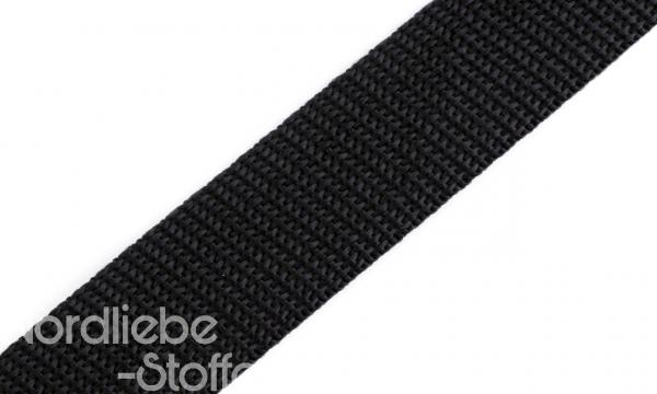 PP Gurtband 25mm schwarz