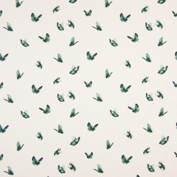 Jersey ~ Schmetterlinge Grün