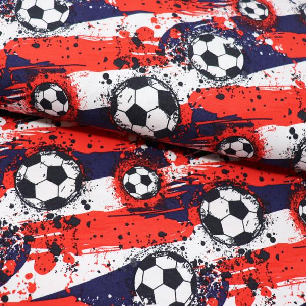 Digital Jersey ~ Fussball Rot Blau