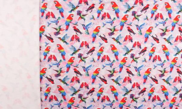 Digital Kuschelsweat ~ Papagei