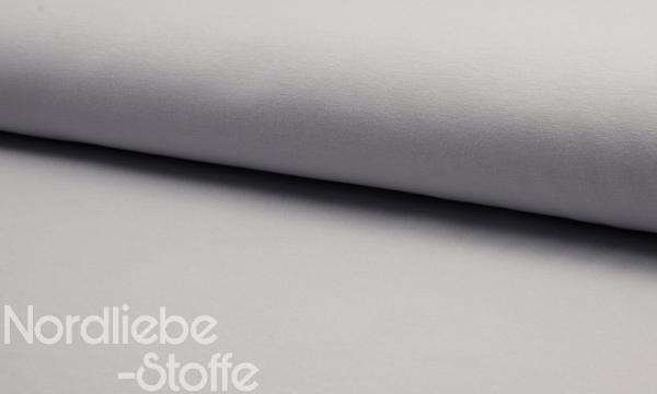 Kuschelsweat ~ Silbergrau 0,9 m LETZTES Stück