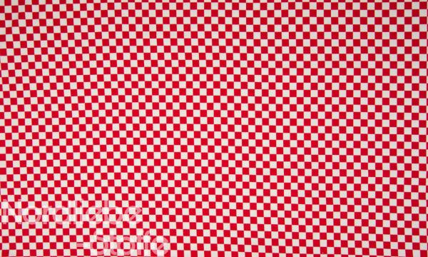 Jersey ~ Schachbrett Muster Rot Weiß