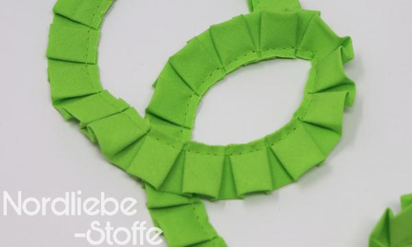Rüschenband 18mm freshgreen