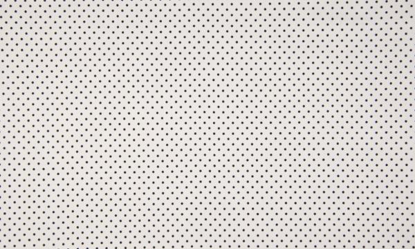 Baumwolle ~ zarte Pünktchen Schwarz auf Weiß