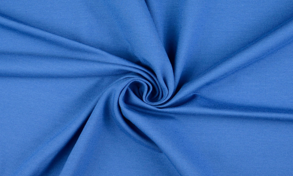 Jersey ~ UNI Tinten Blau 0,7 m LETZTES Stück