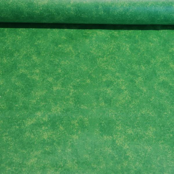 beschichtete Baumwolle ~ Grün Melange