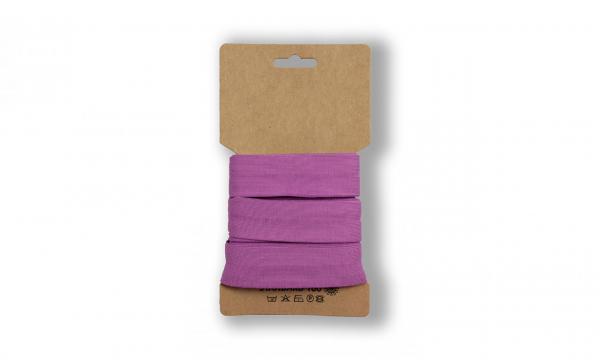 3 Meter Jersey Schrägband HELL Purple 20mm