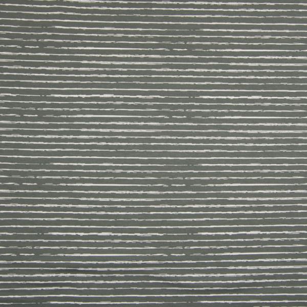 Jersey ~ Stripe Grau Weiß
