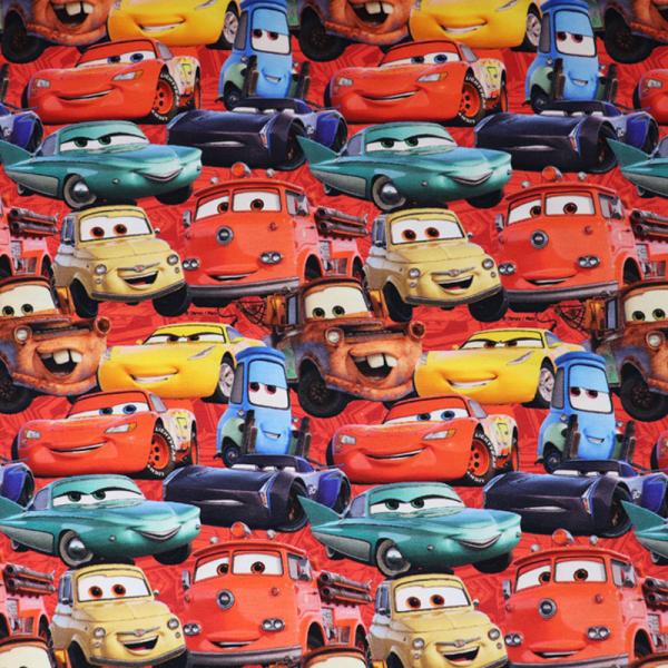 Lizenz Walt Disney Jersey ~ Cars Rot
