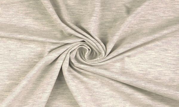 French Terry ~ Melange Light Grey
