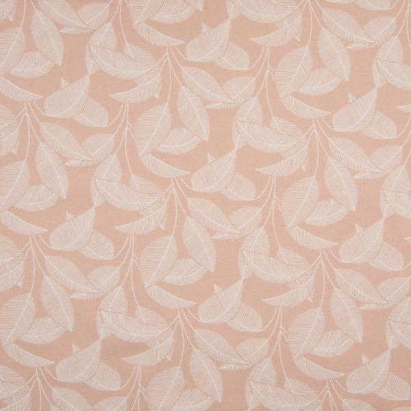 ORGANIC Kuschelsweat ~ Blätter Puder Rosa