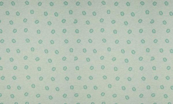 ORGANIC Jersey ~ kleine Pusteblumen Grün Melange