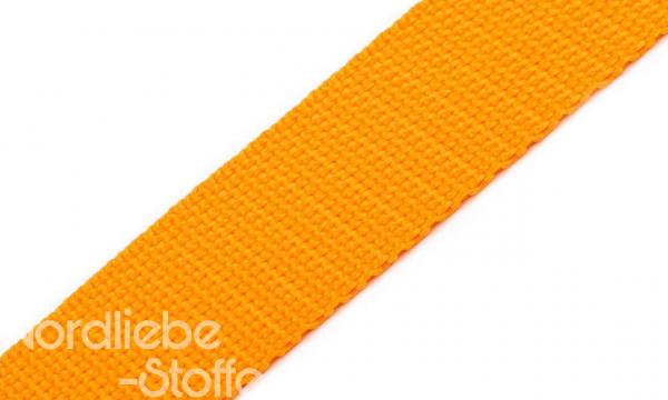 PP Gurtband 25mm Sonnenblumengelb