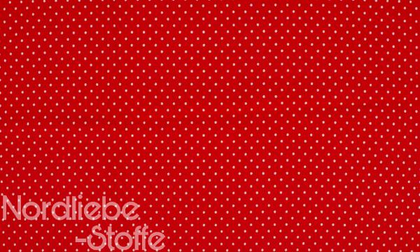 Jersey ~ Kleine Punkte Rot