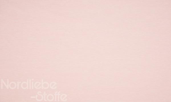 Jersey ~ zarte Streifen Rosa