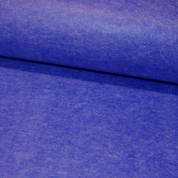 Bastel FILZ Royalblau meliert 3mm Stärke