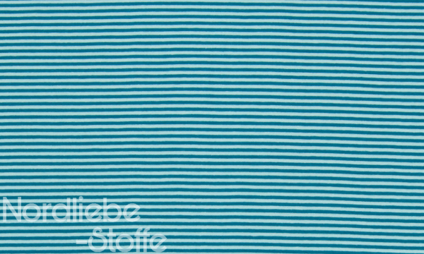 Ringel Bündchen ~ Petrol Skyblue 3mm