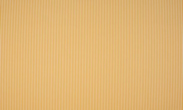 Baumwolle ~ zarte Streifen Ocker Weiß