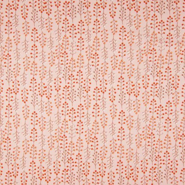 ORGANIC Baumwolle ~ Eukalyptus Zweige Oldrose