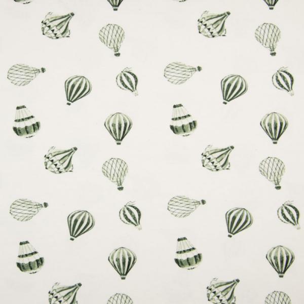 ORGANIC Jersey ~ Heißluftballon Grün