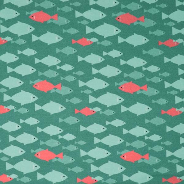 Jersey ~ Fische Grün