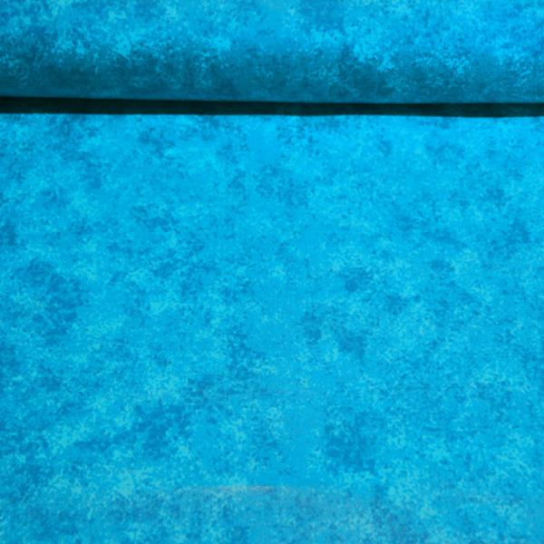 beschichtete Baumwolle ~ Blau Melange