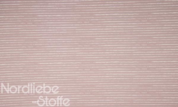 Baumwolle ~ Streifen Rosa