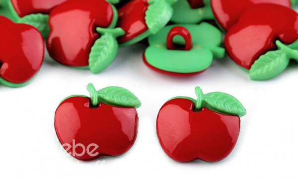 Knopf ~ Apfel