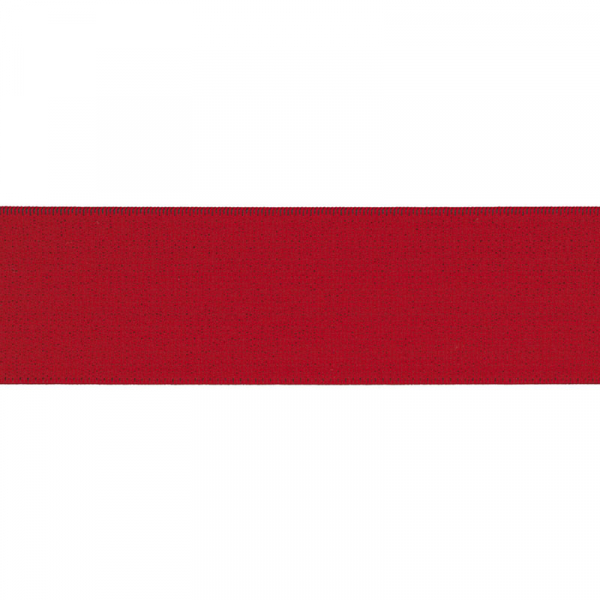 Gummiband elastisch 40 mm ~ UNI Old Rot