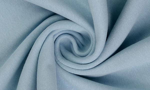 Bündchen Feinripp ~ UNI Light Blau