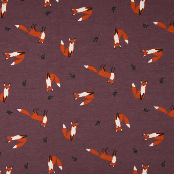 Jersey ~ Fuchs auf Pflaume