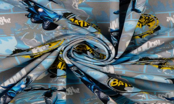 Lizenz Jersey ~ Batman Grau Blau