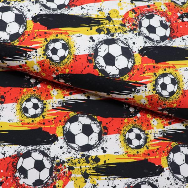 Digital Jersey ~ Fussball Schwarz
