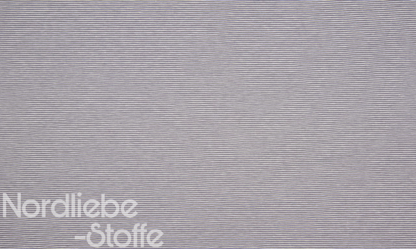 Jersey ~ zarte Streifen Grau 1,3 m LETZTES Stück