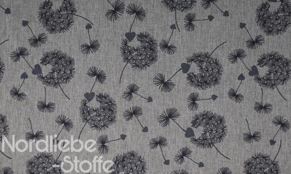 Softshell ~ Pusteblume Grau Melange