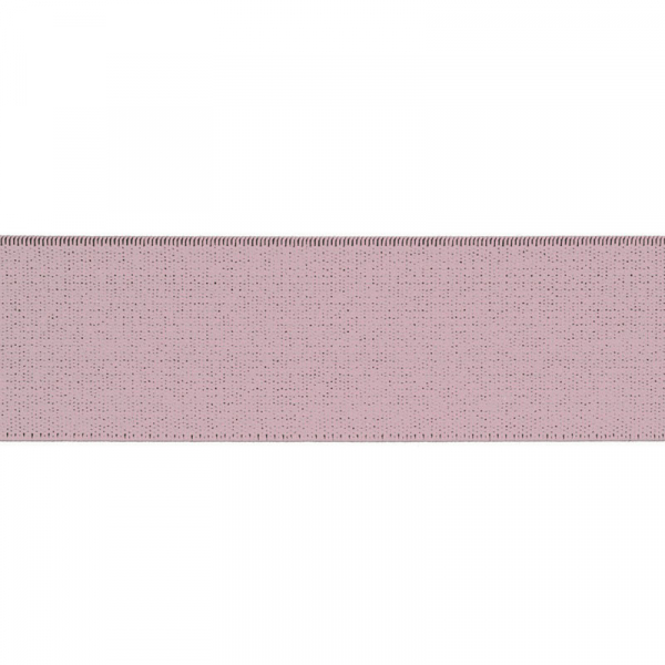 Gummiband elastisch 40 mm ~ UNI Rose
