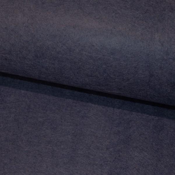 Bastel FILZ Marineblau meliert 3mm Stärke