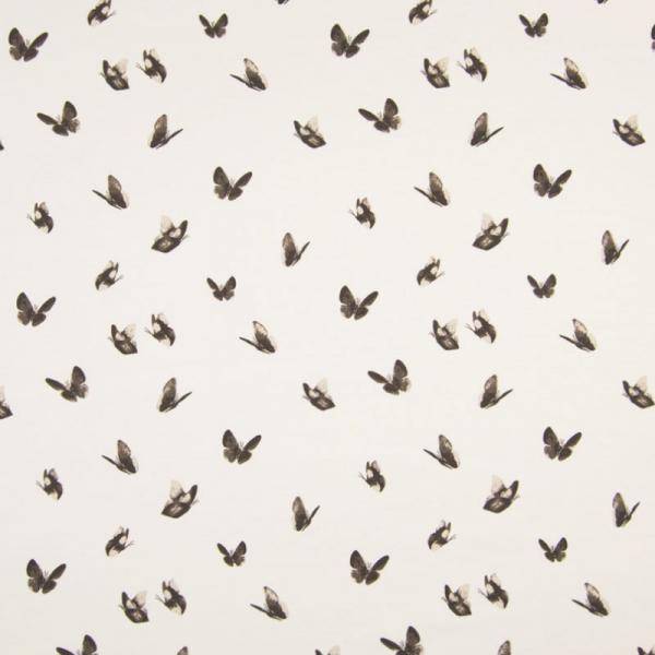 Jersey ~ Schmetterlinge Taupe