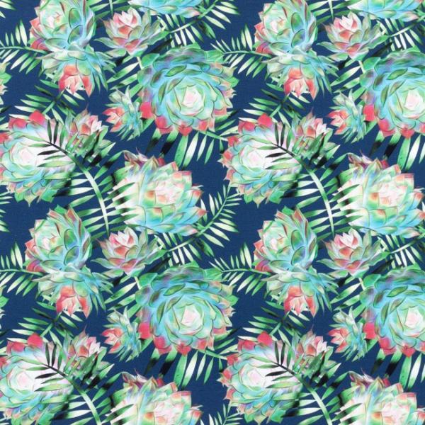 Digital Jersey ~ Dahlie Blau