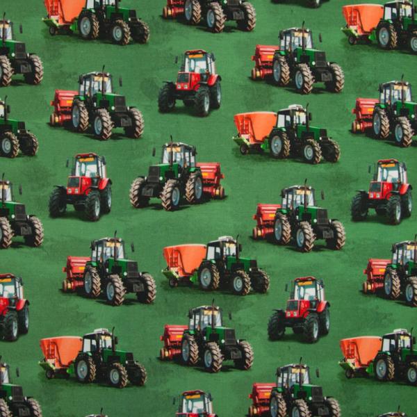 Digital Jersey ~ Traktor auf Grün