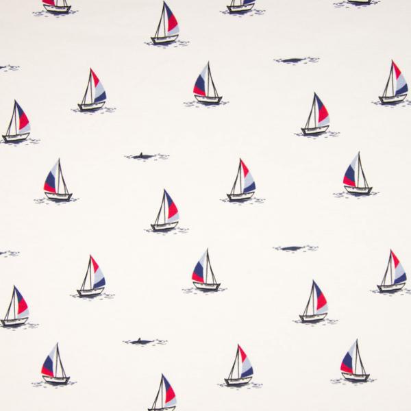 Jersey ~ Segelboote Weiß
