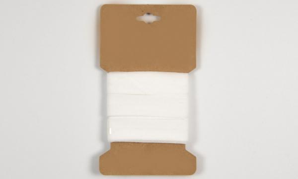 3 m Baumwoll Schrägband Offwhite 20mm