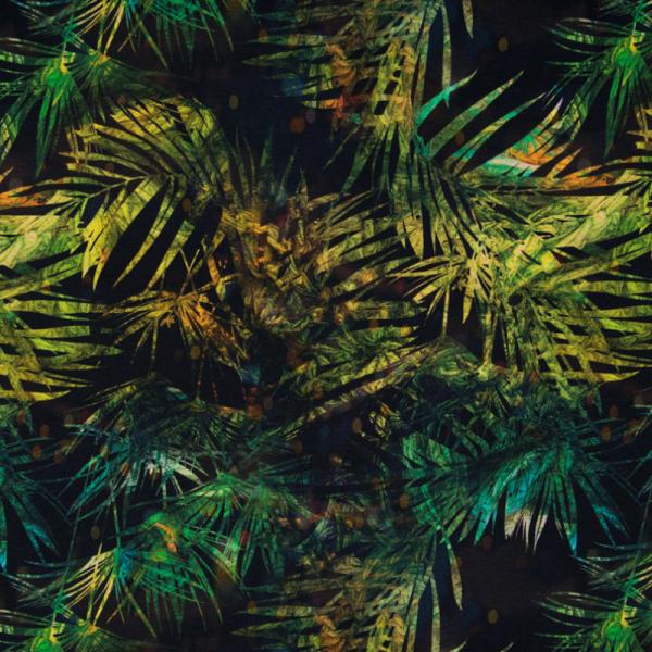 Digital Jersey ~ Palmen Blätter