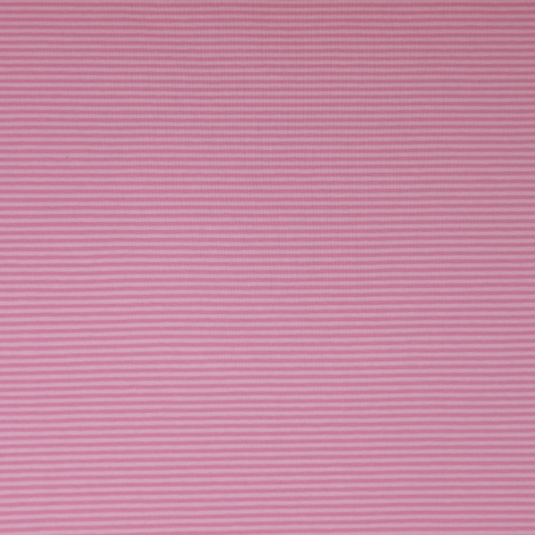 Jersey ~ schmale Streifen Rosa Hellrosa