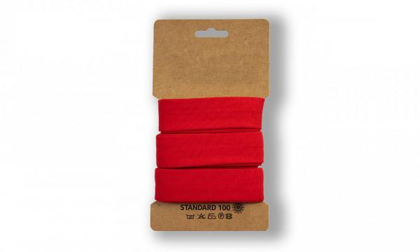 3 Meter Jersey Schrägband Rot 20mm