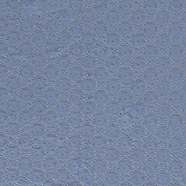 Spitze ~ Kreise Jeansblau