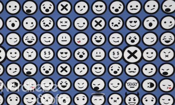Jersey ~ Emoji auf Blau