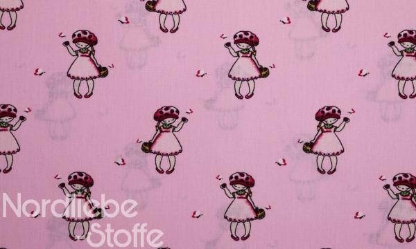 Baumwolle ~ Erdbeer Mädchen