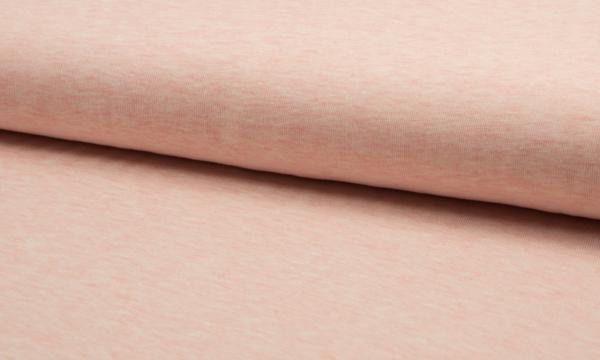 Feinstrick ~ Baumwolle Rosa Melange